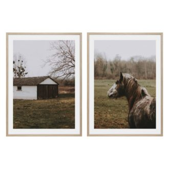 2 pack häst poster