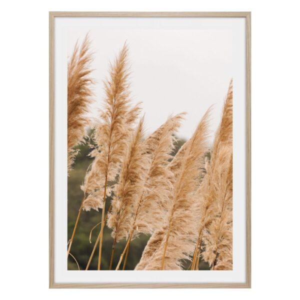 Gult gräs poster